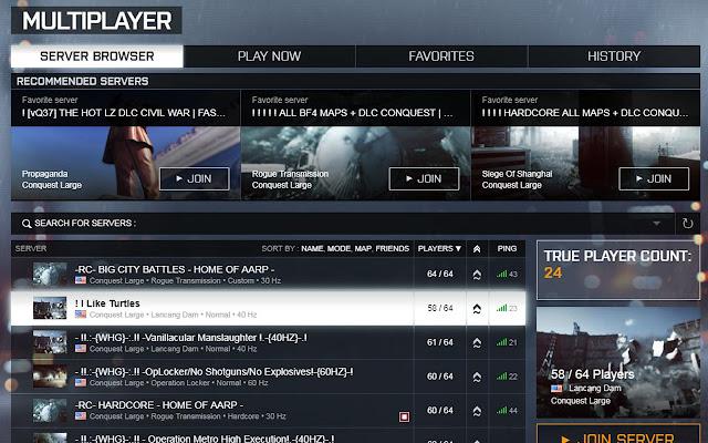 Battlefield 4 True Player Count