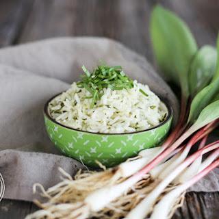 5-Minute {Pressure Cooker} Wild Ramp Rice