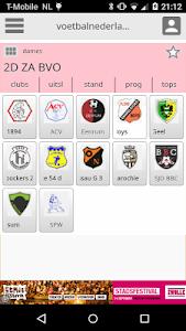 Damesvoetbal screenshot 2