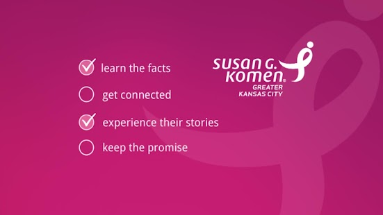 Komen : Connected for the Cure- screenshot thumbnail