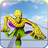 Flying Spider Super Hero Survival