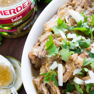 Easy Slow Cooker HERDEZ Chile Verde.