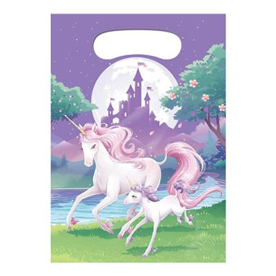 Discount Party Supplies Unicorn Fantasy 8 Pack Lootbags