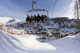Photo: Télésiège au Val d'Allos (crédits OT Allos)