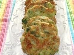 Baked Broccoli Cheese Patties Recipe