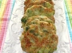 Baked Broccoli Cheese Patties Recipe