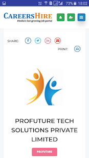 Download CareersHire- India's No:1 Job Portal For PC Windows and Mac apk screenshot 8