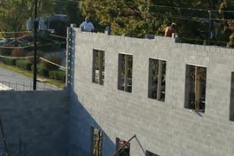 Photo: Block Work On New Building Atlanta ,Ga.