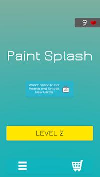 Paint Splat Hit