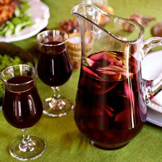 Thanksgiving Cider Sangria.