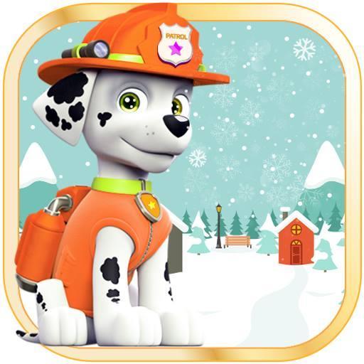 Paw puppy snowman patrol 冒險 App LOGO-APP開箱王