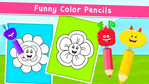 Coloring Games for Kids - Drawing & Color Book  screenshots 8