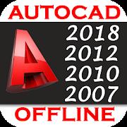 AutoCAD Tutorial - 2D & 3D ( Offline )