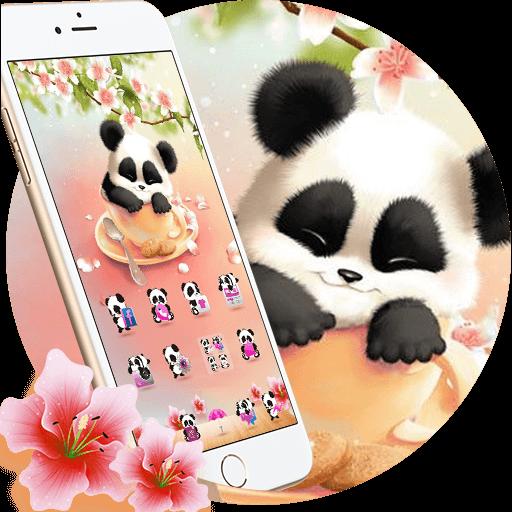 Panda Sakura Theme