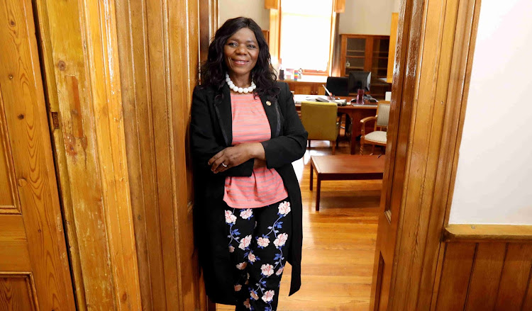 Former public protector Thuli Madonsela said she hopes Harry and Meghan's children will 'feel free to love across the Atlantic'. File photo.