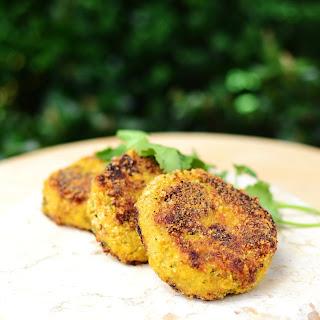 Cauliflower Cheese Patties.
