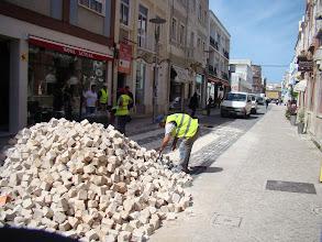 Photo: Após a aprovação da reabertura foram feitas passadeiras na rua