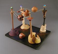 Photo: Hyper-dimensional Transport Graeme Young, turner Hazel Young, beadmaker