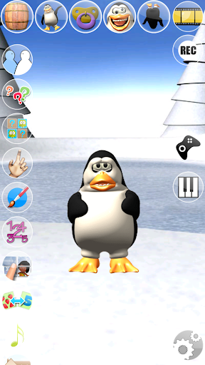 Sweet Little Talking Penguin apkpoly screenshots 5