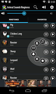 Animal Sounds Ringtones Screenshot