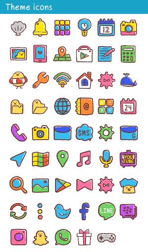 Cute Wallpaper Chick in Summer Theme 1.0.0 Windows u7528 4