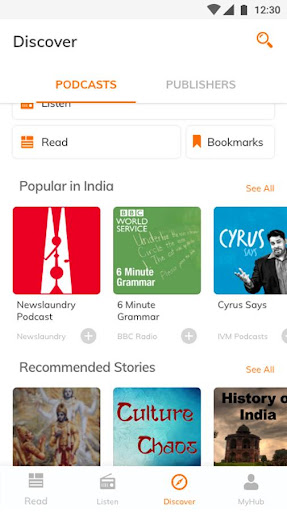 Hubhopper: Latest News and Free Podcast App 3.2 screenshots 7