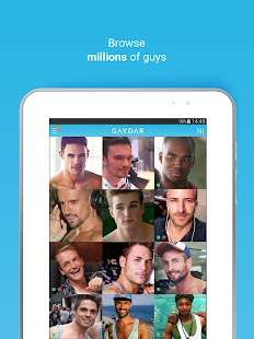 Gaydar- gay & bisexual dating- miniatura screenshot