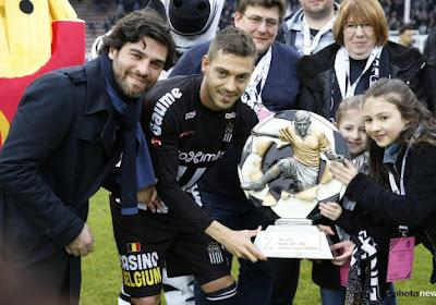 Javier Martos is door de supporters van Charleroi verkozen tot Gouden Zebra