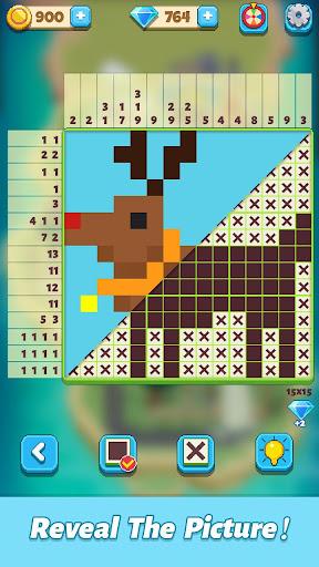 Pixel Crossu2122-Nonogram Puzzles 4.8 screenshots 1