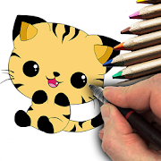 How to Draw Kawaii Drawings by Level Apps Studios icon