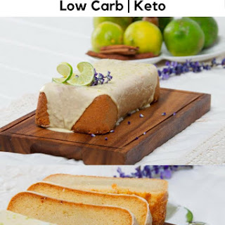 Keto Lemon Vanilla Pound Cake Recipe