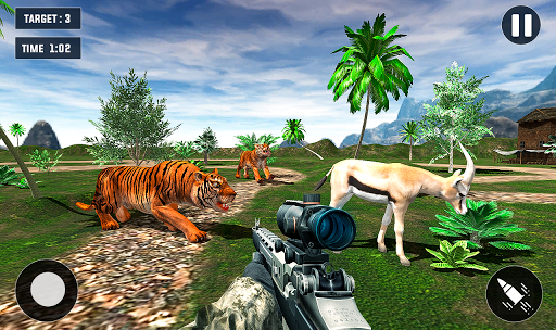 Code Triche Tiger Hunting game: Zoo Animal Shooting 3D 2020 APK MOD (Astuce) screenshots 3