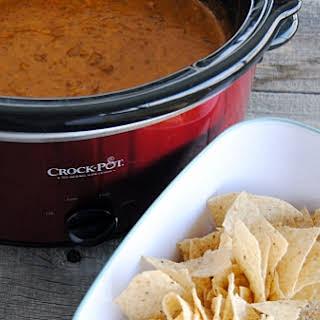 Crock Pot Chili Cheese Dip.