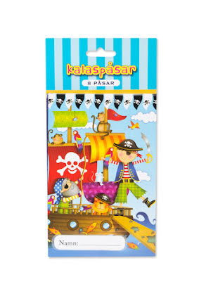 Pirat, kalaspåsar