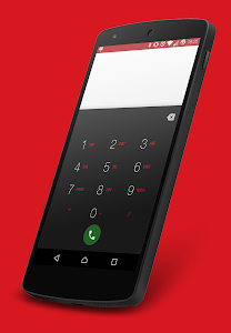 Nuclear Red CM12.1 Theme v3.0