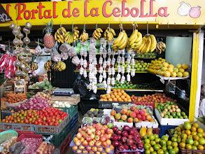 Photo: Fruit Display at the Minorist Market