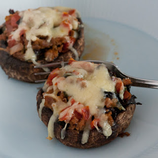 Chorizo-Stuffed Portobello Mushrooms