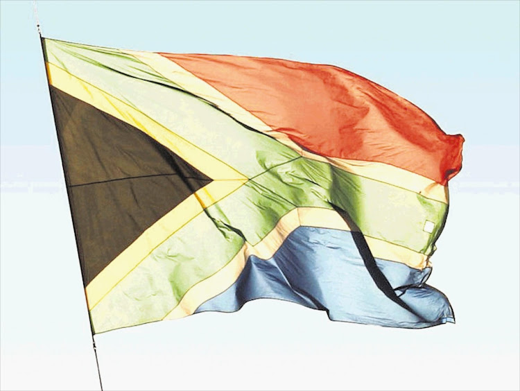 South African flag. File photo