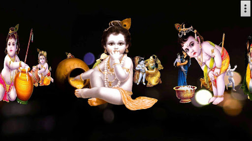 4D Little Krishna App LWP