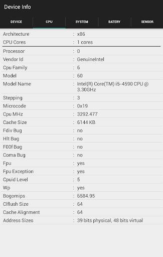 Device Info  screenshots 4
