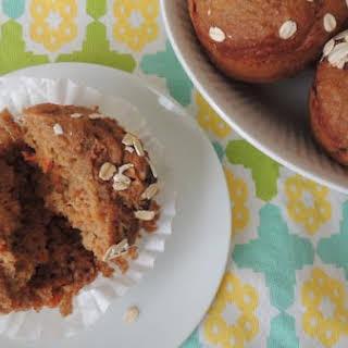 Applesauce Carrot Cake Muffins.