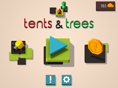 Tents and Trees Puzzles 8
