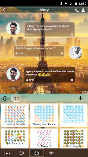 mod Dream Paris Theme Keyboard 4.5 screenshots 2