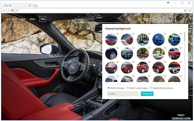 Jaguar Cars Backgrounds HD Luxury Car New Tab