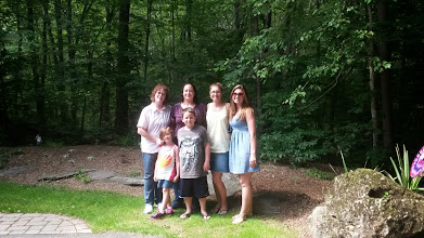 Photo: My mom, me, cousin Sharon, Sharon's Daughter Cortney, Genevieve, and Ethan