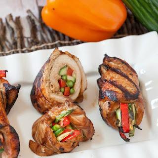 Grilled Korean Turkey Roll Ups Recipe