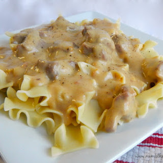 5 Ingredient Beef Stroganoff