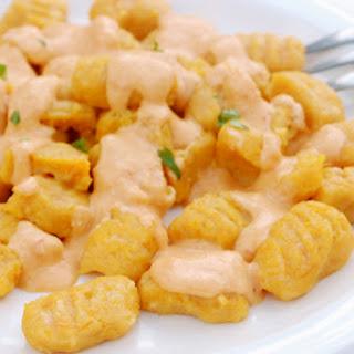 Cheesy Butternut Squash Gnocchi (Gluten Free)