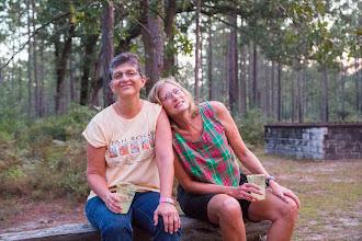 Photo: Mary and Sharon