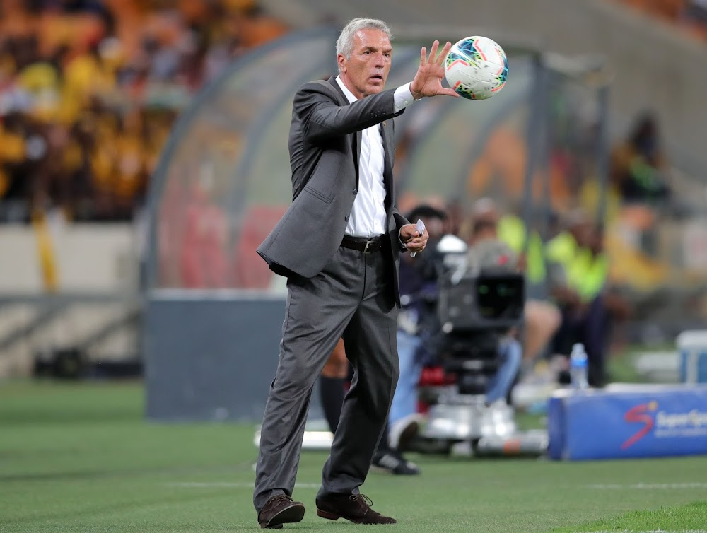 Middendorp after Chiefs' defeat to United: 'Unfortunately' we seem to have it against this team' - SowetanLIVE